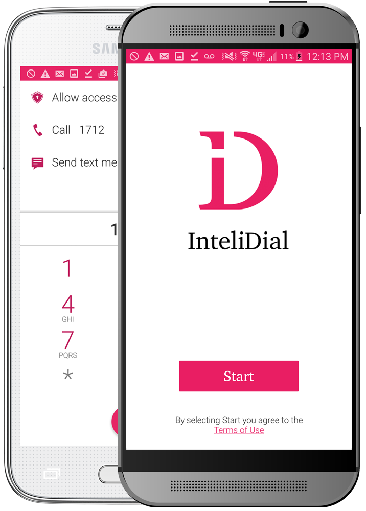 InteliDial helps you dial into your Conference Calls and Online Radio stations with a single tap!